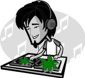Dr. Z Scheme PhD Sigh, there were no female DJ clip art images.