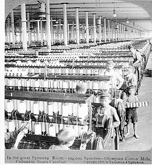 Olympia Cotton Mills, South Carolina c.1903